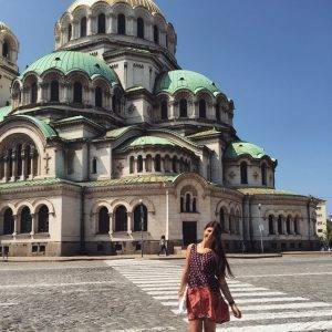 The St Alexander Nevsky Cathedral in Sofia Bulgaria exploring bulgariahellip