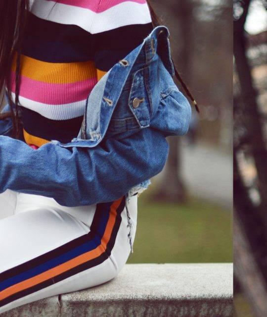 Stripes & Reeboks